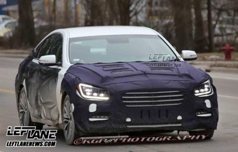 Hyundai Genesis 2015 tiếp tục lộ diện