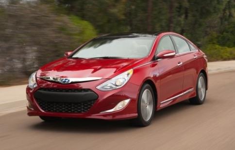 Hyundai Sonata Hybrid giảm giá 200 USD