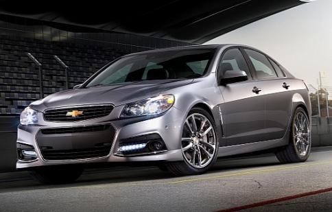 Lộ diện Chevrolet SS 2014