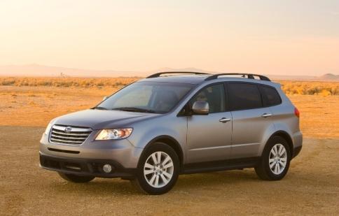 Subaru Tribeca sắp bị thay thế