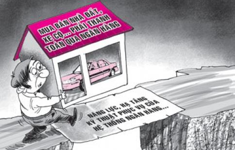 'Có thể sớm cấm mua nhà, ôtô bằng tiền mặt'