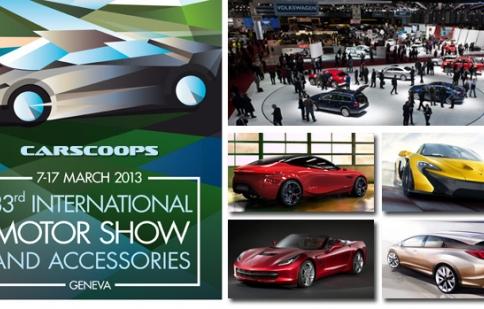 Geneva Motor Show 2013 – thiên đường xe thể thao