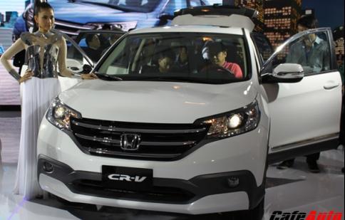 Honda CR-V về Việt Nam với giá 998 triệu đồng