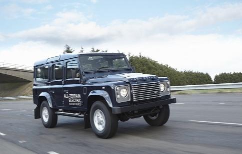 Land Rover đem Defender tới Geneva Motor Show
