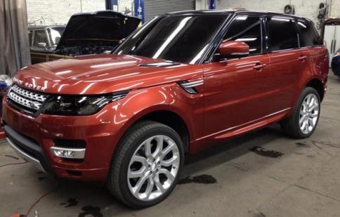 Đây là Range Rover Sport 2014?