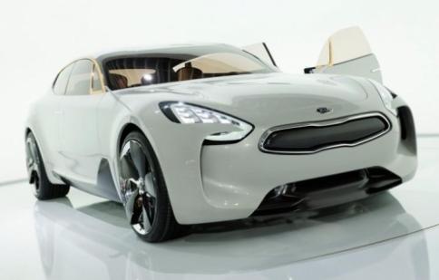 GT Coupe – xe sang của Kia