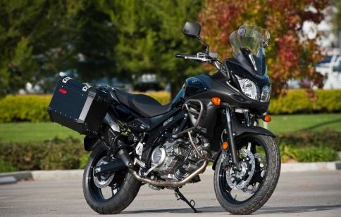 Suzuki giới thiệu V-Strom 650 ABS 2013 qua video