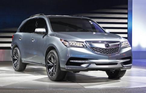 Acura MDX 2014 sẵn sàng đi vào sản xuất
