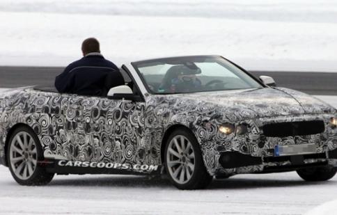 BMW 4 Series Convertible lộ ảnh thử nghiệm