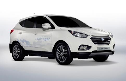 Hyundai Tucson chạy Hydrogen ra mắt vào 2015