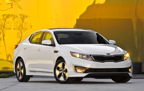 Đã có giá bán Kia Optima Hybrid 2013
