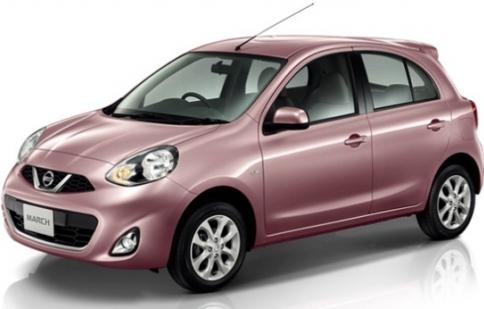Nissan nâng cấp nhẹ Micra 2014