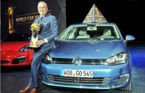 "VW Golf Mk7 ""ẵm"" giải xe của năm"