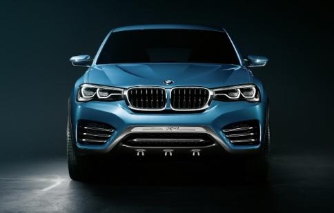 BMW tiết lộ X4 Concept