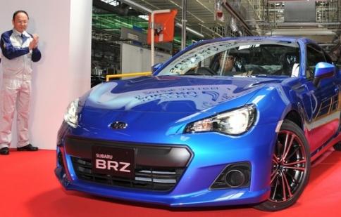 Subaru BRZ Convertible Hybrid xuất hiện vào năm 2015