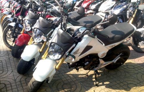 Về Việt Nam Honda MSX125 có giá gần 100 triệu