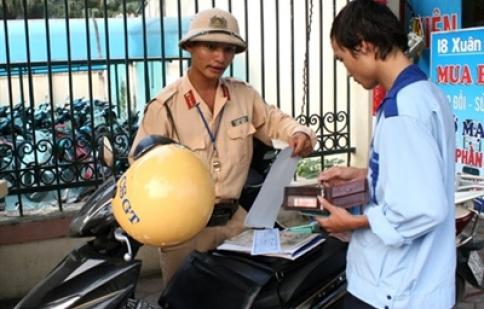 Vi phạm giao thông nộp phạt qua ATM