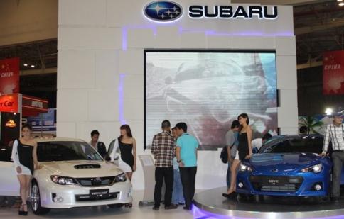 """Saigon AutoTech 2013: sân chơi """"độc tôn"""" của Subaru"""
