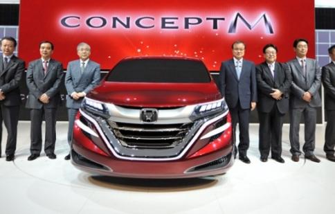 Honda giới thiệu M Concept Minivan