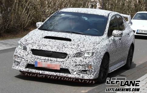 Subaru WRX 2015 chạy thử nghiệm