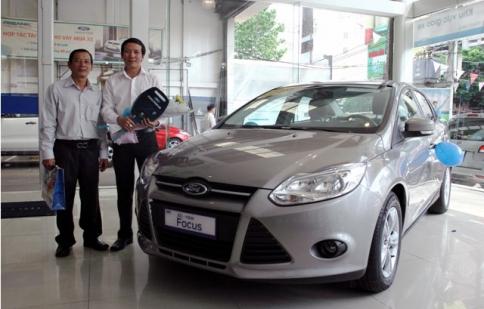 Ford Việt Nam trao Focus 1.6AT cho người chiến thắng