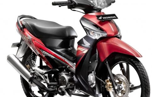 Honda thay tem mới cho Supra X 125