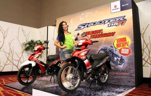 Suzuki Shooter 115 FI chính thức được bán ra