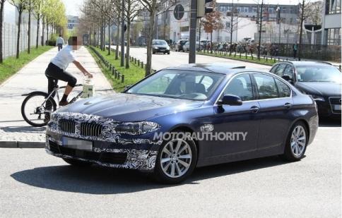 Sắp có BMW 5-Series 2015