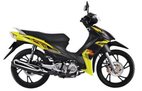 Suzuki Axelo thêm màu mới, giá không đổi