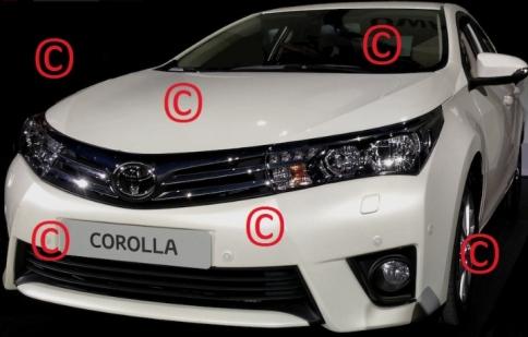 Toyota ra mắt Corolla 2014 vào tháng tới