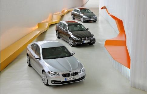 Chi tiết BMW 5-Series 2014