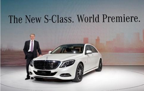 Mercedes S-Class Sedan 2014 chính thức ra mắt