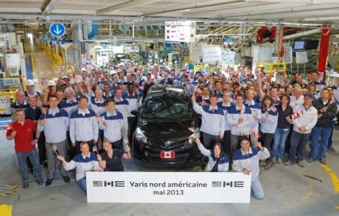 Toyota Yaris bắt đầu sản xuất tại Pháp