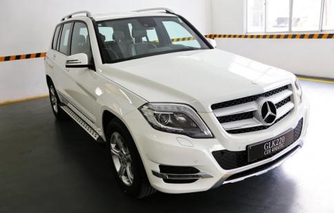Mercedes GLK 220 diesel về Việt Nam với giá từ 1.5 tỷ đồng