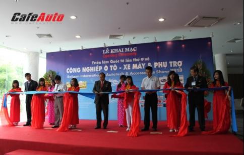 Saigon Autotech & Accessories 2013 chính thức khai mạc