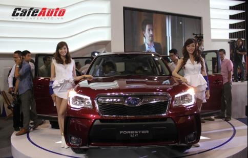 Subaru Forester về việt Nam với giá 1.579 tỷ đồng
