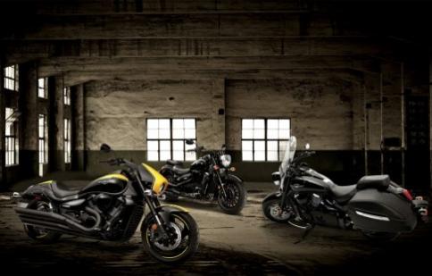 Suzuki giới thiệu bộ 3 BOSS 2014