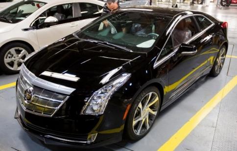 Mẫu xe chạy điện của Cadillac đã xuất hiện