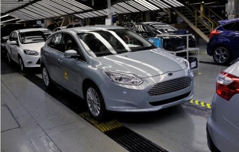 Ford bắt đầu sản xuất Focus Electric