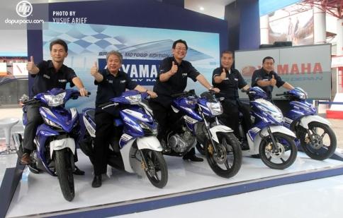 Yamaha ra mắt 5 phiên bản GP
