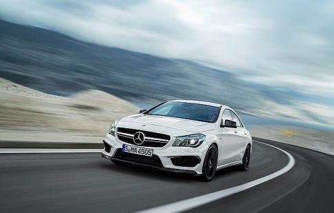 Đã có giá bán của Mercedes-Benz CLA45 AMG 2014