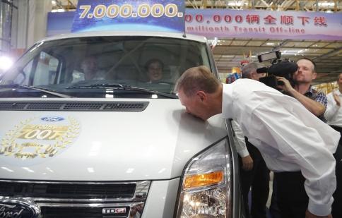 Ford Transit Van đạt cột mốc 7 triệu chiếc