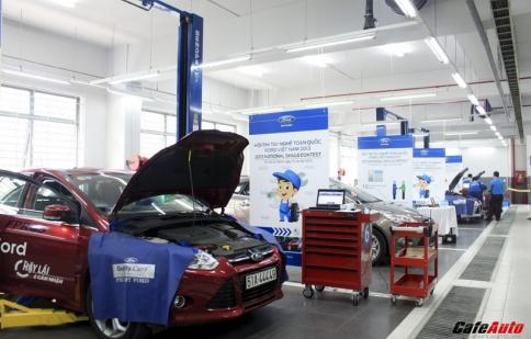 Ford Việt Nam tổ chức hội thi tay nghề toàn quốc