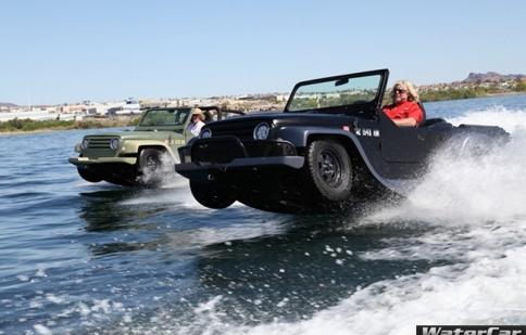 Chiêm ngưỡng dòng xe lưỡng cư WaterCar Panther