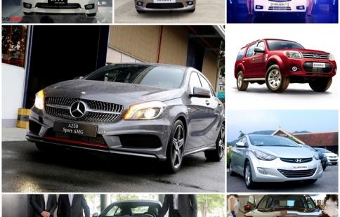 Những cú hích cho thị trường ô tô nửa cuối năm