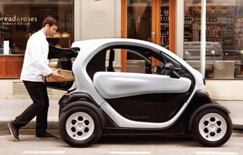 Renault ra mắt dòng xe điện Twizy Cargo