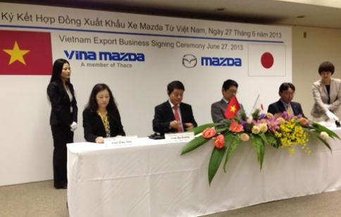 Vina Mazda sẽ xuất khẩu ôtô từ Việt Nam sang Lào