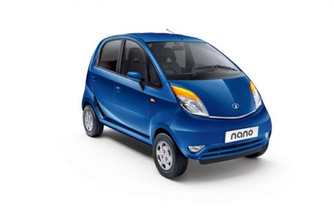 Xe rẻ nhất thế giới Tata Nano được làm mới