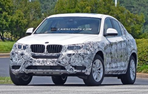 BMW X4 2014 chạy thử nghiệm