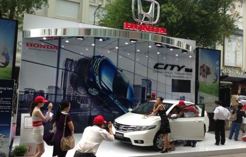 Chương trình lái thử Honda City đến Hà Nội